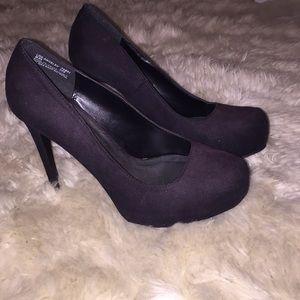 Shoes - Kardashian Kollection Ombré Black Heels